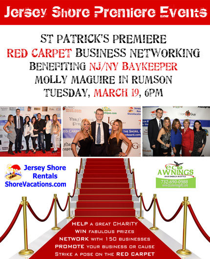 Jersey Shore Premiere Business Networking and Red Carpet Event!